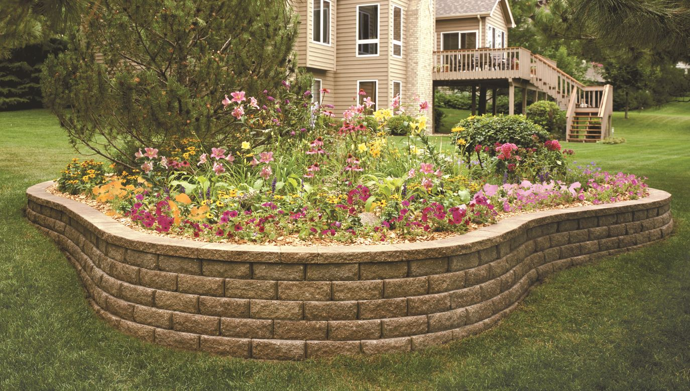 Aspen Stone Retaining Wall System - Central Supply Company